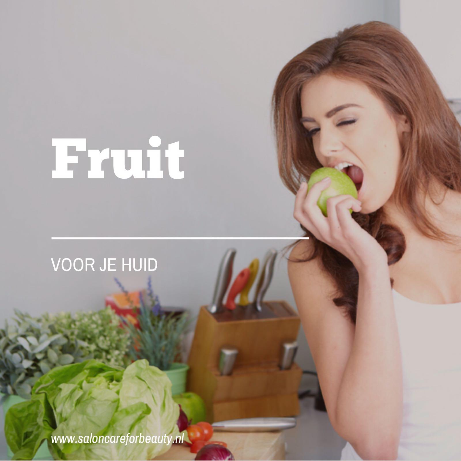 Fruit voor je huid