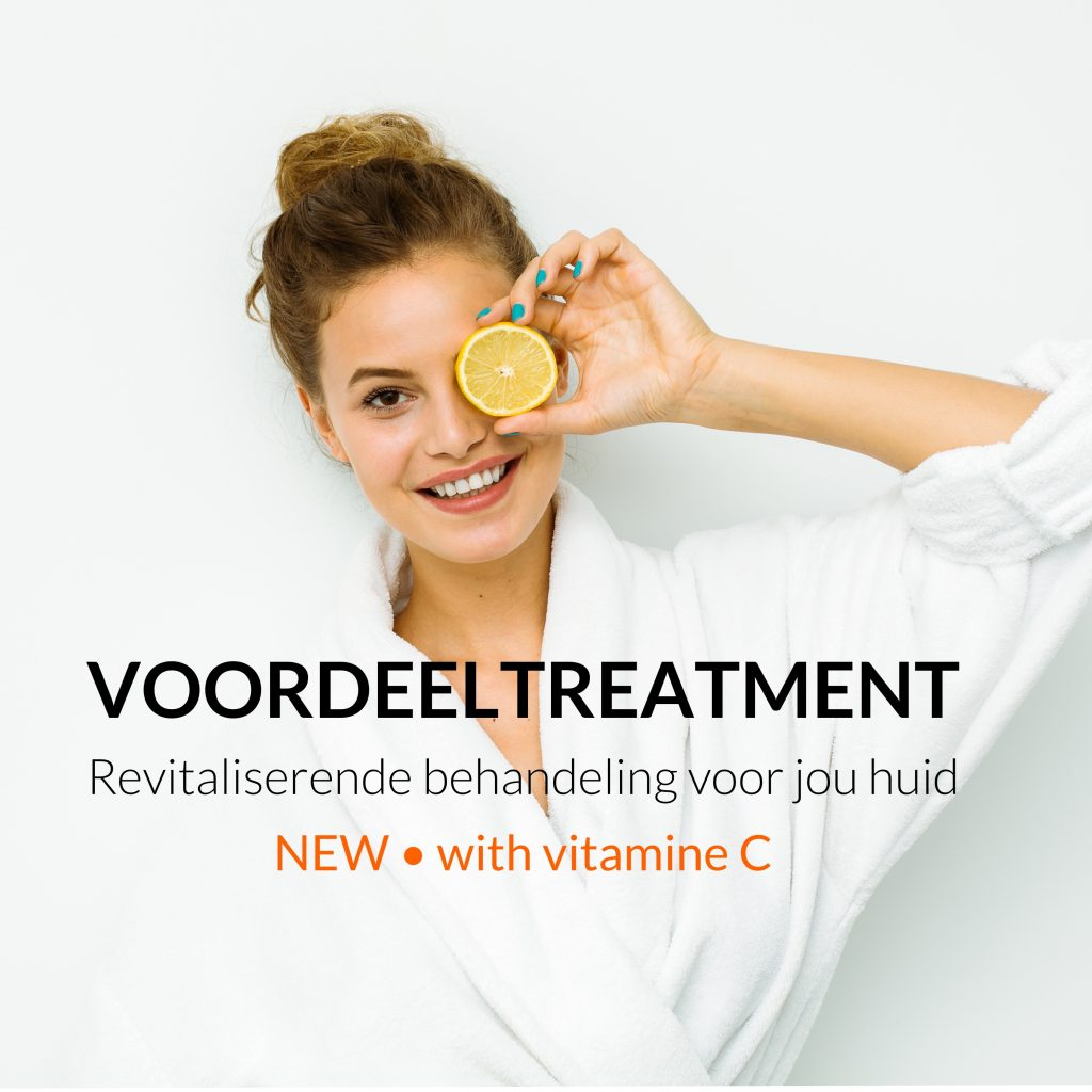 vitamine c gezichtsbehandeling